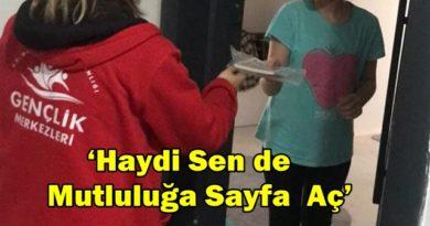 """Sinop Gençlik Merkezi""""Haydi Sende de Mutluluğa Sayfa Aç"""" Projesi…"""